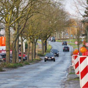 Straßenausbau Zeppelinstraße: Schlagloch an Schlagloch